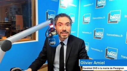 Moi Maire de Perpignan, Olivier Amiel le 29 janvier 2020