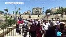 """Plan de paix au Proche-Orient : """"Jérusalem n'est pas à vendre, nos droits ne sont pas à vendre"""""""