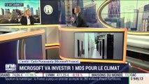 "Carlo Purassanta (Microsoft France) : Climat, Microsoft veut devenir ""carbone négatif"" - 29/01"