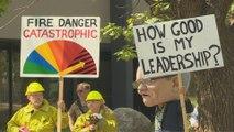 Australia PM defends coal industry amid bushfire crisis