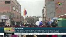 Video Candidato presidencial Luis Arce regresa a Bolivia