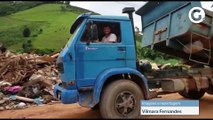 Prefeito de Muniz Freire mostra toneladas de lixo recolhidas na cidade