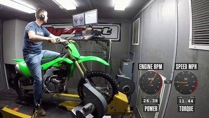 2020 Kawasaki KX250 Dyno Test