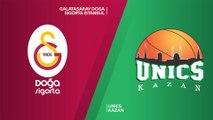 Galatasaray Doga Sigorta Istanbul - UNICS Kazan Highlights   7DAYS EuroCup, T16 Round 4