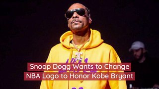 Snoop Dogg And The NBA Logo