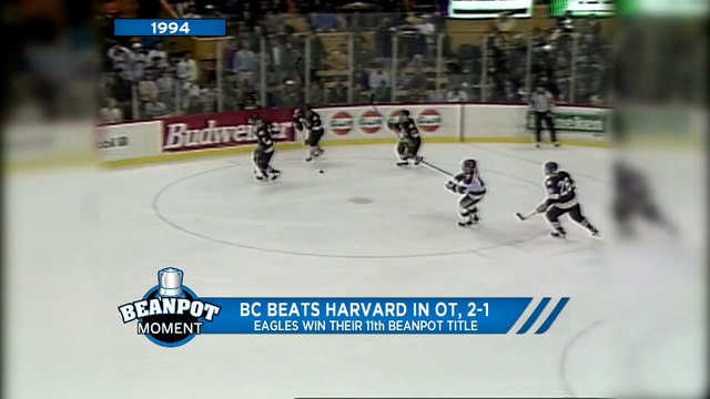 BC Beats Harvard In Overtime; Eagles Win Their 11th Beanpot Title (1994)