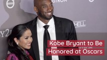 The Late Kobe Bryant Will Get Oscars Tribute