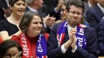 European legislators bid emotional farewell to Britain