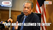 Muhyiddin: 14 visitors from Wuhan turned away at KLIA