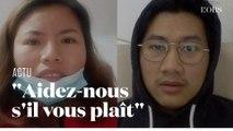 Confinés à Wuhan, des Thaïlandais appellent à l'aide
