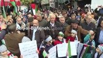 Au Liban, les Palestiniens manifestent contre le plan de paix de Trump
