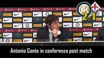 INTER-FIORENTINA 2-1:  ANTONIO CONTE in CONFERENZA STAMPA - INTEGRALE