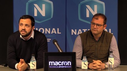 """Conférence du Président Messina : """"notre volonté est forte et notre envie de bien faire entière !"""""""