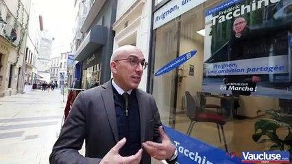 Frédéric Tacchino, candidat LREM aux municipales d'Avignon