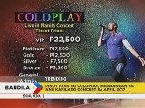 Coldplay vocalist Chris Martin, nagkwento tungkol sa mga nakilalang Pinoy