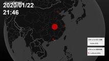 شاهد: كيف اتّسعت دائرة انتشار فيروس كورونا منذ ظهوره في الصين أوّل مرّة