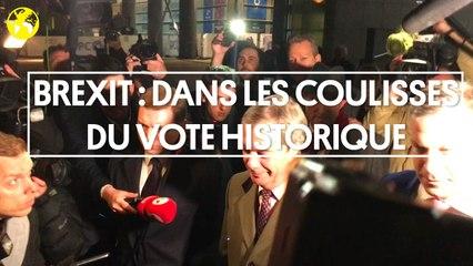Brexit  : reportage dans les coulisses du vote historique au Parlement européen