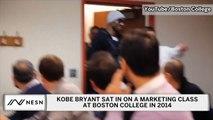 Kobe Bryant Visited Boston College Marketing Class In 2014