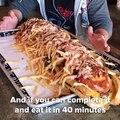 70cm et 6kg... Vous êtes capable de manger ce sandwich énorme ???