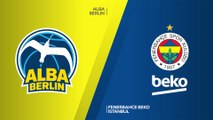 ALBA Berlin - Fenerbahce Beko Istanbul Highlights   Turkish Airlines EuroLeague, RS Round 22