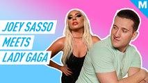 Here's how 'The Circle' winner Joey Sasso met Lady Gaga and Adele