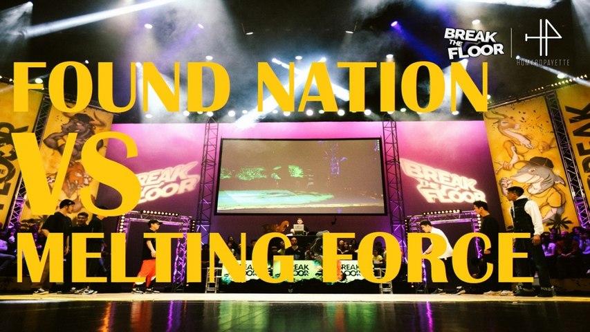 Break The Floor 2020   1/4 Final   Found nation VS Melting Force