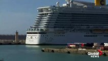 Coronavirus outbreak- Cruise ship with 6,000 passengers stuck at Italian port after virus scare