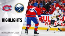 NHL Highlights | Canadiens @ Sabres 1/30/20