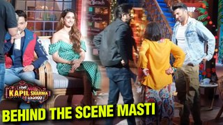 The Kapil Sharma Show Behind The Scenes FUN With Anil Kapoor, Aditya Roy Kapur | Malang