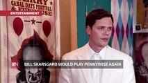 Bill Skarsgard Enjoys Playing Pennywise