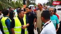 Sesi lawatan pegawai daerah, ADUN Dengkil bertukar kecoh