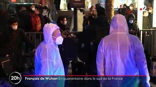 Virus – Regardez les images de l'embarquement des Français sous haute protection cette nuit en Chine qui sont en vol vers la France
