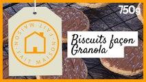 Recette des biscuits Granola/ Fait maison - 750g