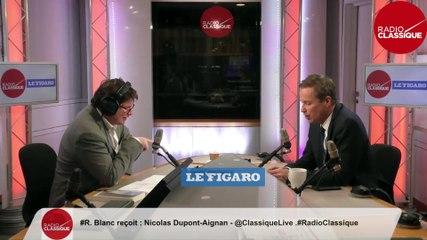 Nicolas Dupont-Aignan - Radio Classique vendredi 31 janvier 2020