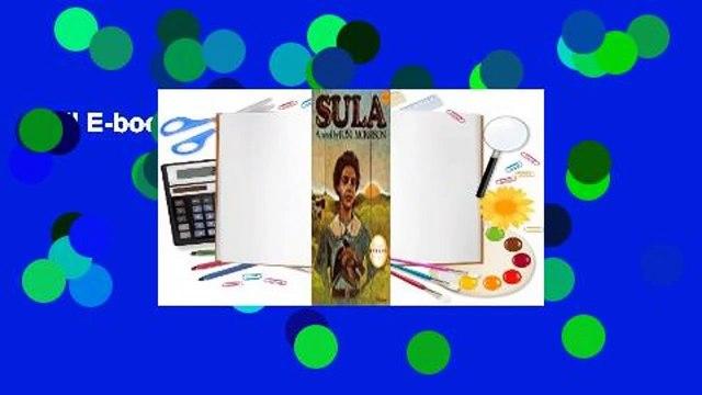 Full E-book  Sula  For Kindle