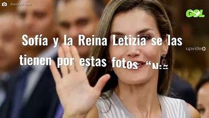 """Sofía y la Reina Letizia se las tienen por estas fotos. """"Niñata incorregible"""""""