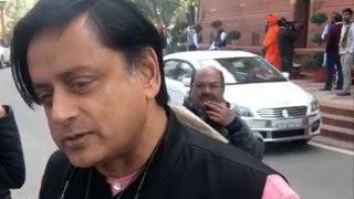 Congress leader Shashi Tharoor slams politics of polarization