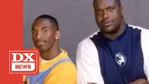 Shaq Shares Throwback Studio Session With Kobe Bryant & DJ Clark Kent