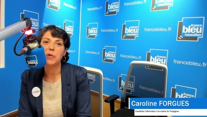 Moi, maire de Perpignan : Caroline FORGUES, pour la liste l'Alternative ! Perpignan écologique et solidaire