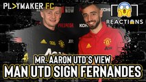 Reactions | Bruno Fernandes signs for Manchester United