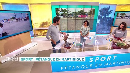 Sport : Pétanque en Martinique