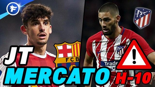Journal du Mercato - édition de 14h : le Barça et l'Atlético passent à l'action