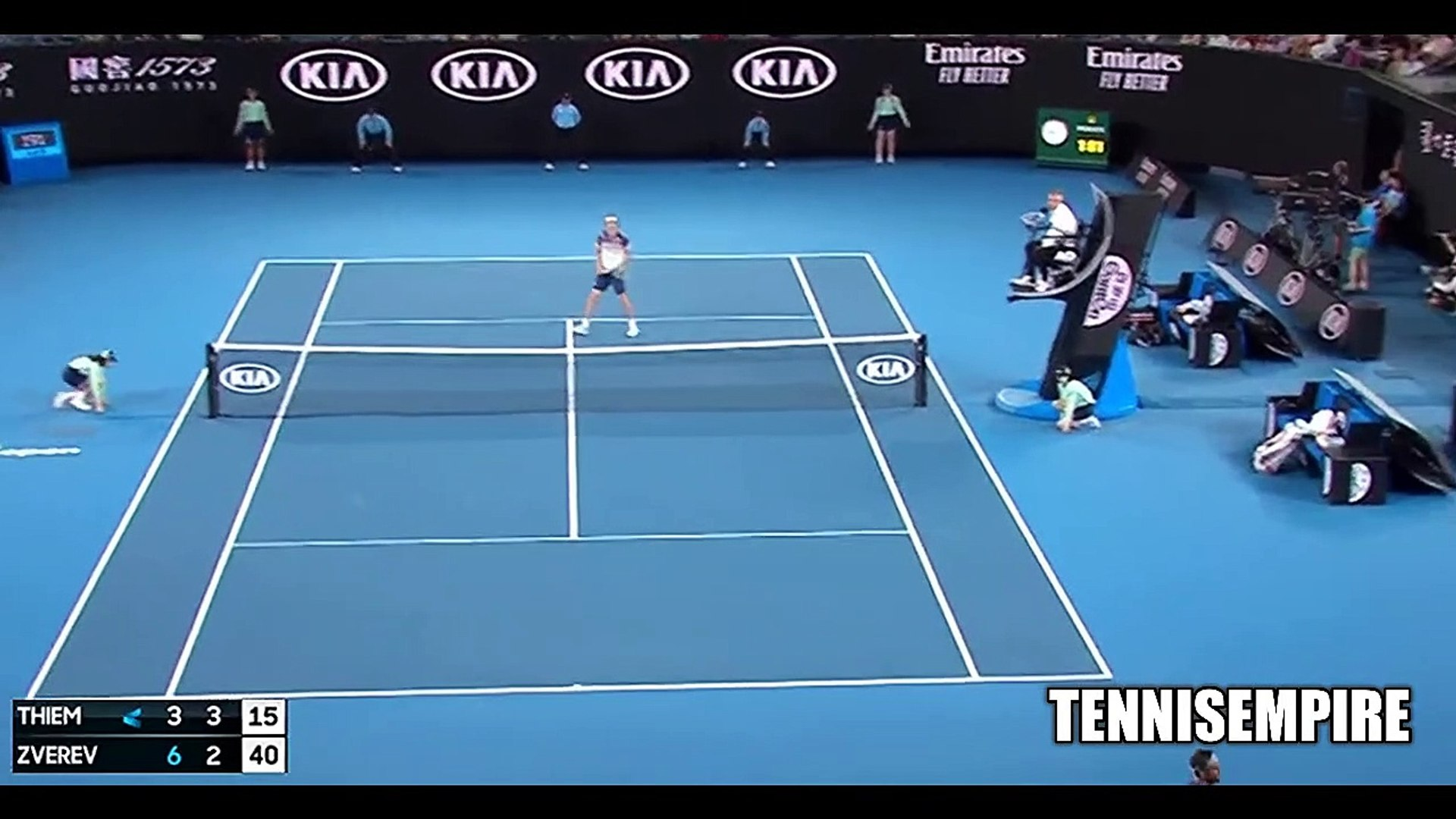 Dominic Thiem vs Alexander Zverev Highlights || AO 2020 SF (HD) - video  dailymotion