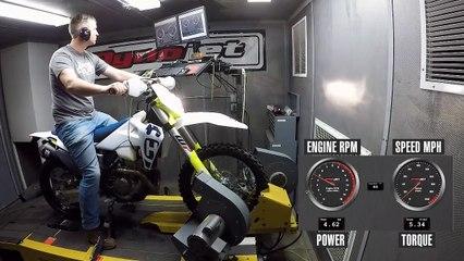2020 Husqvarna FE 350 Dyno Test