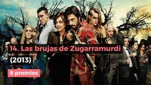 Las 14 películas con más premios Goya