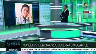 Ricardo León: China tiene capacidad para controlar el coronavirus