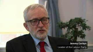 """Corbyn on Brexit day: """"It's a day of reflection"""""""