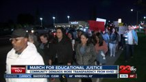 March for Educational Justice held in Bakersfield