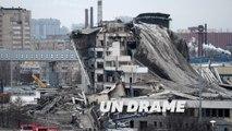 L'effondrement spectaculaire d'un stade à Saint-Petersbourg fait une victime