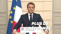 """Face au """"signal d'alarme historique"""" du Brexit, Macron livre un plaidoyer pour une UE réformée"""